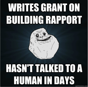 Grant Writing Forever Alone