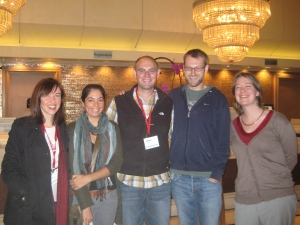 some UA anthro grad students at AAA2012